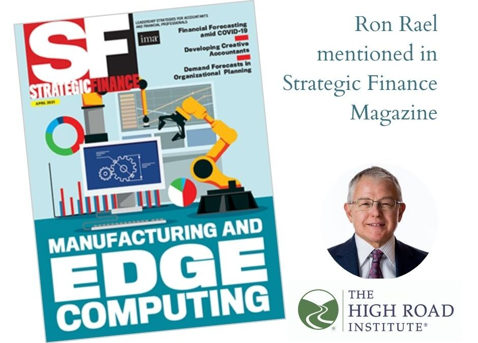 As seen in: Ron Rael mentioned in Strategic Finance
